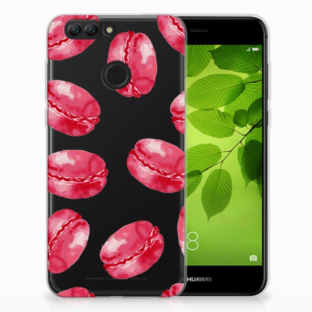 Huawei Nova 2 Siliconen Case Pink Macarons