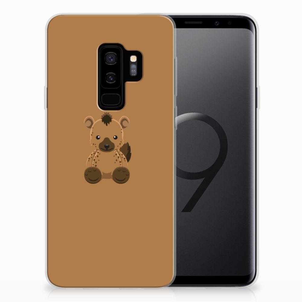 Samsung Galaxy S9 Plus Telefoonhoesje met Naam Baby Hyena