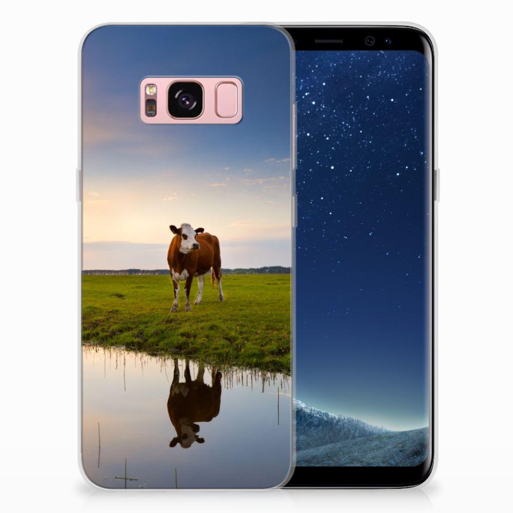 Samsung Galaxy S8 TPU Hoesje Design Koe