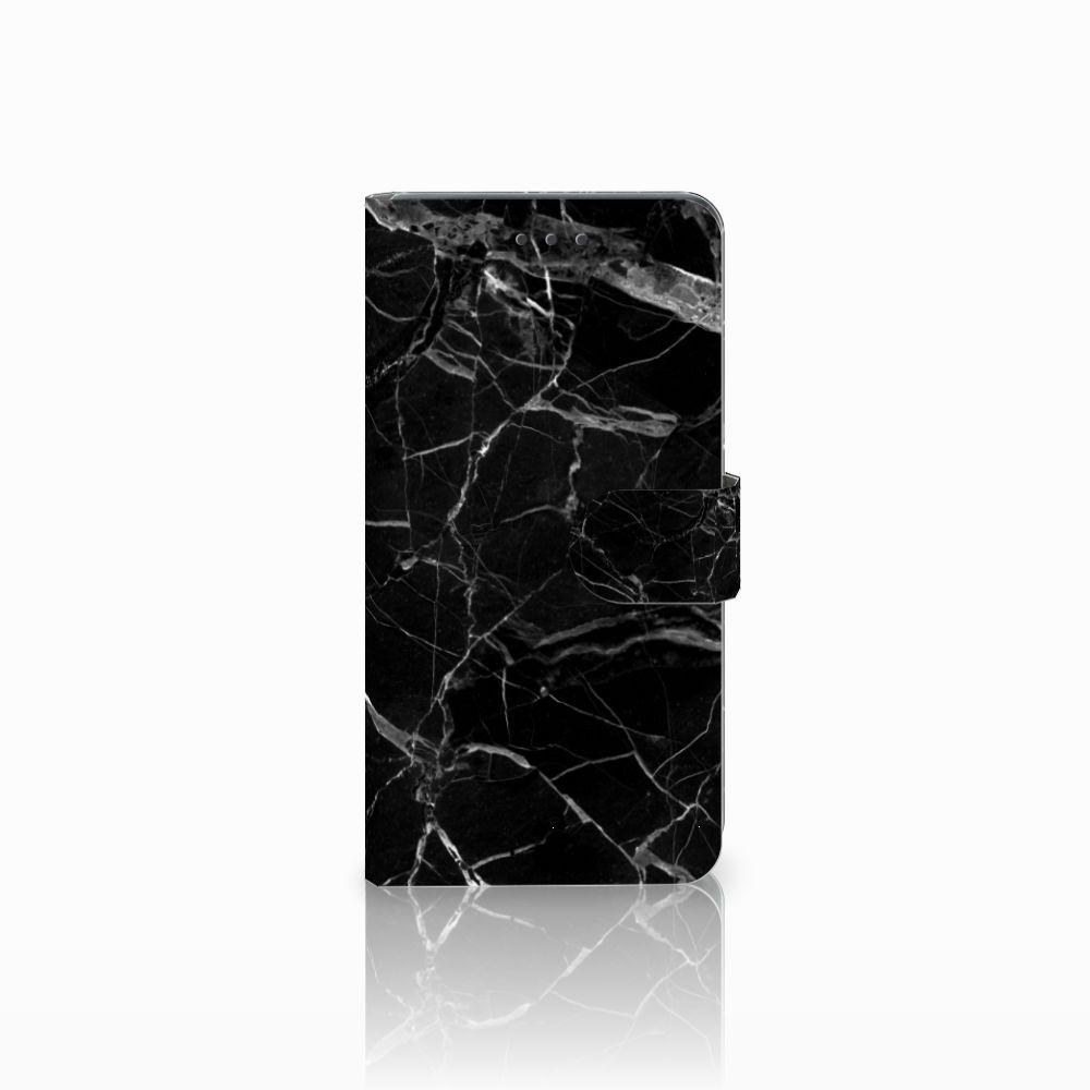 Huawei Mate 8 Boekhoesje Marmer Zwart