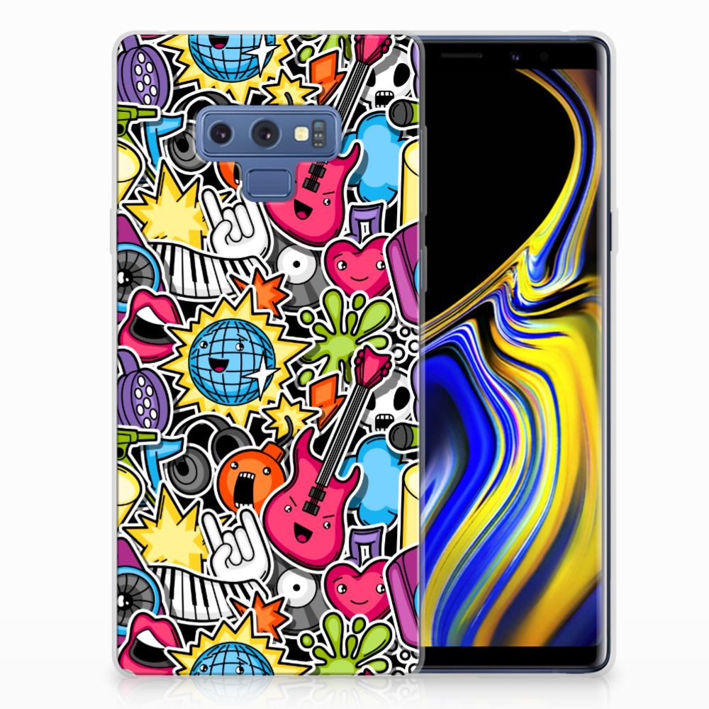 Samsung Galaxy Note 9 Silicone Back Cover Punk Rock
