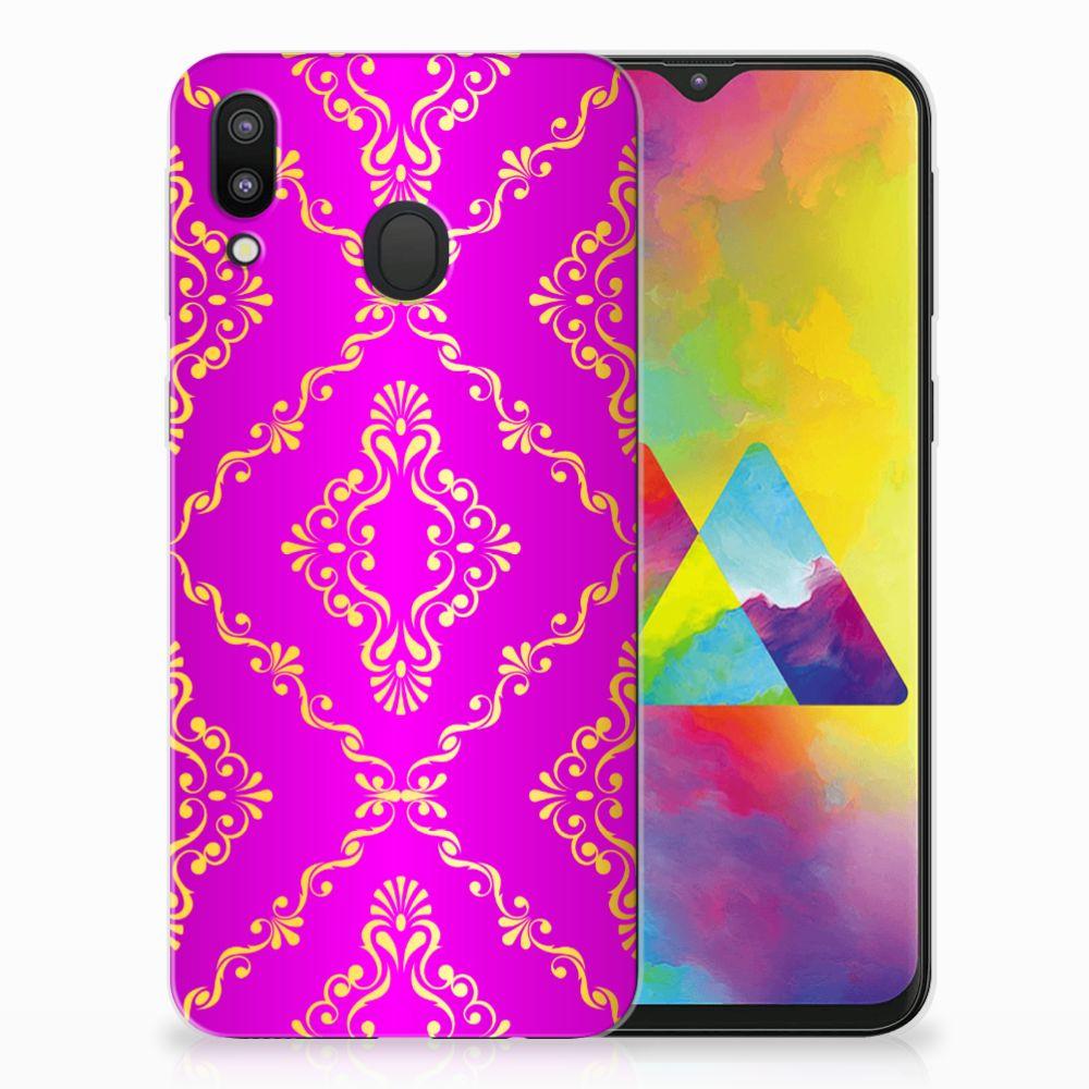 Samsung Galaxy M20 Uniek TPU Hoesje Barok Roze