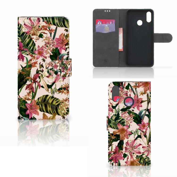 Huawei P Smart Plus Hoesje Flowers