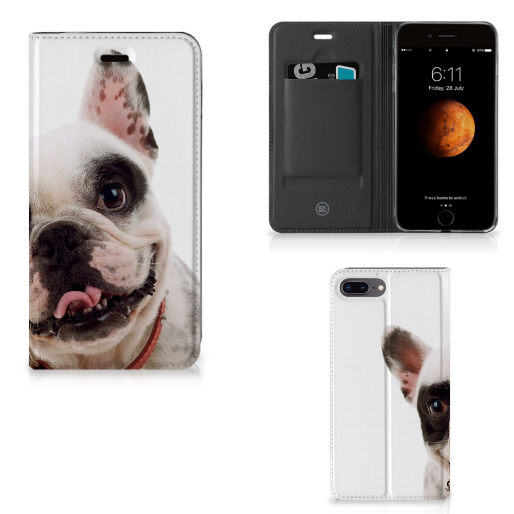 Apple iPhone 7 Plus | 8 Plus Hoesje maken Franse Bulldog