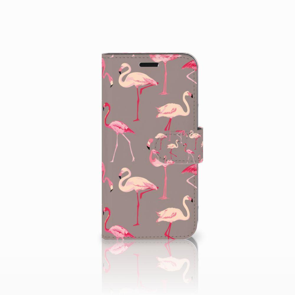 Huawei Nova Uniek Boekhoesje Flamingo
