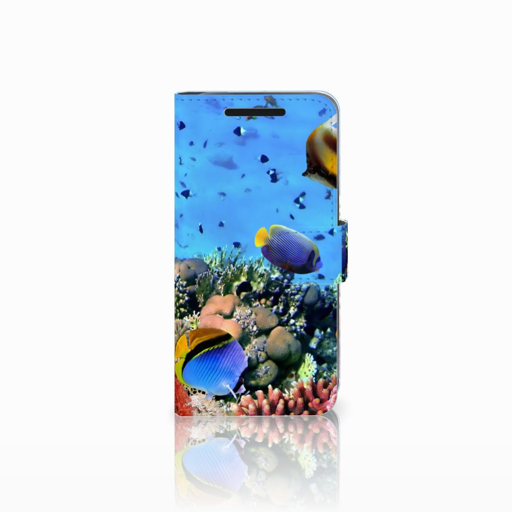 HTC One M9 Telefoonhoesje met Pasjes Vissen
