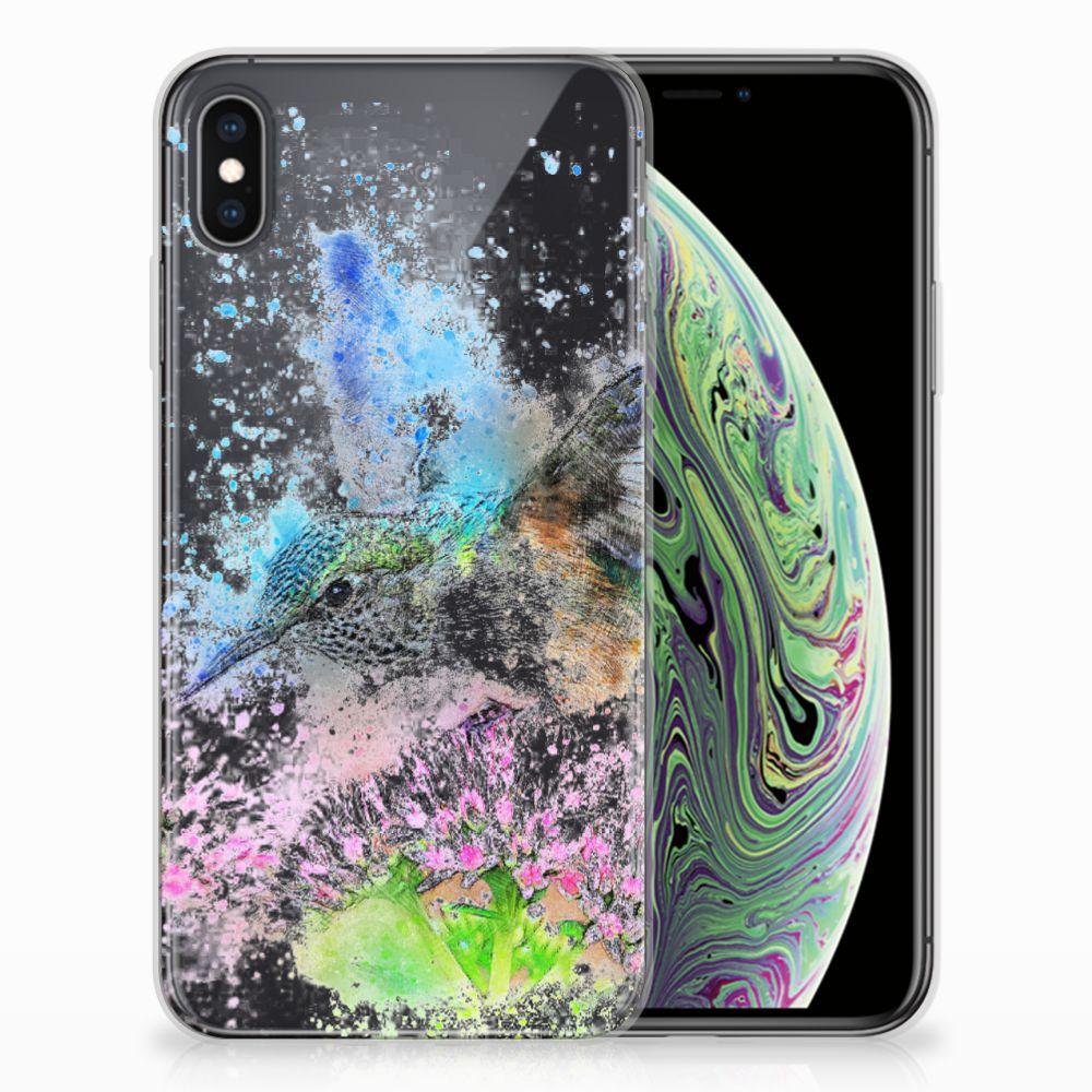 Hoesje maken Apple iPhone Xs Max Vogel