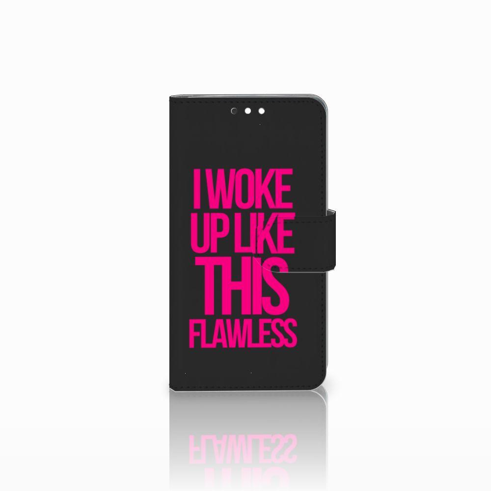 Nokia 8 Sirocco | Nokia 9 Uniek Boekhoesje Woke Up