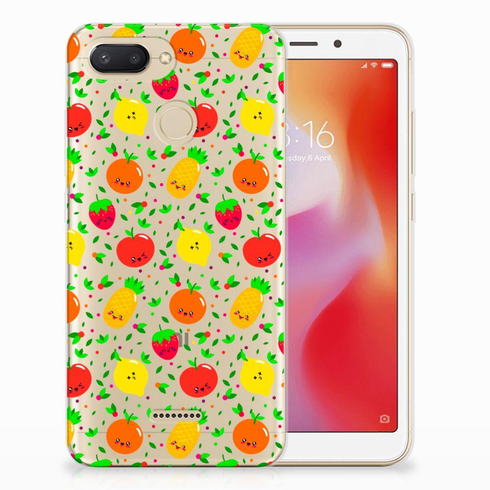 Xiaomi Redmi 6 Siliconen Case Fruits