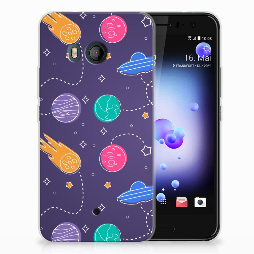 HTC U11 Uniek TPU Hoesje Space