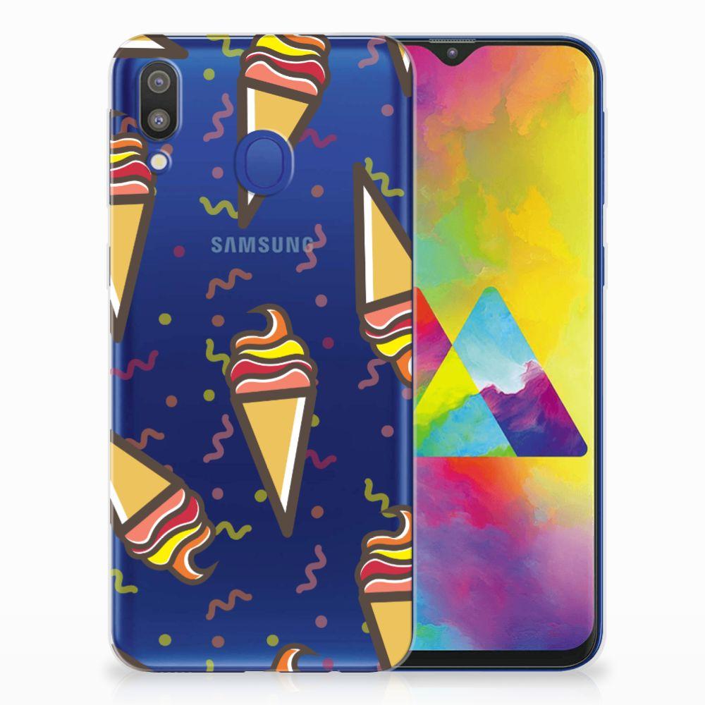 Samsung Galaxy M20 (Power) Siliconen Case Icecream