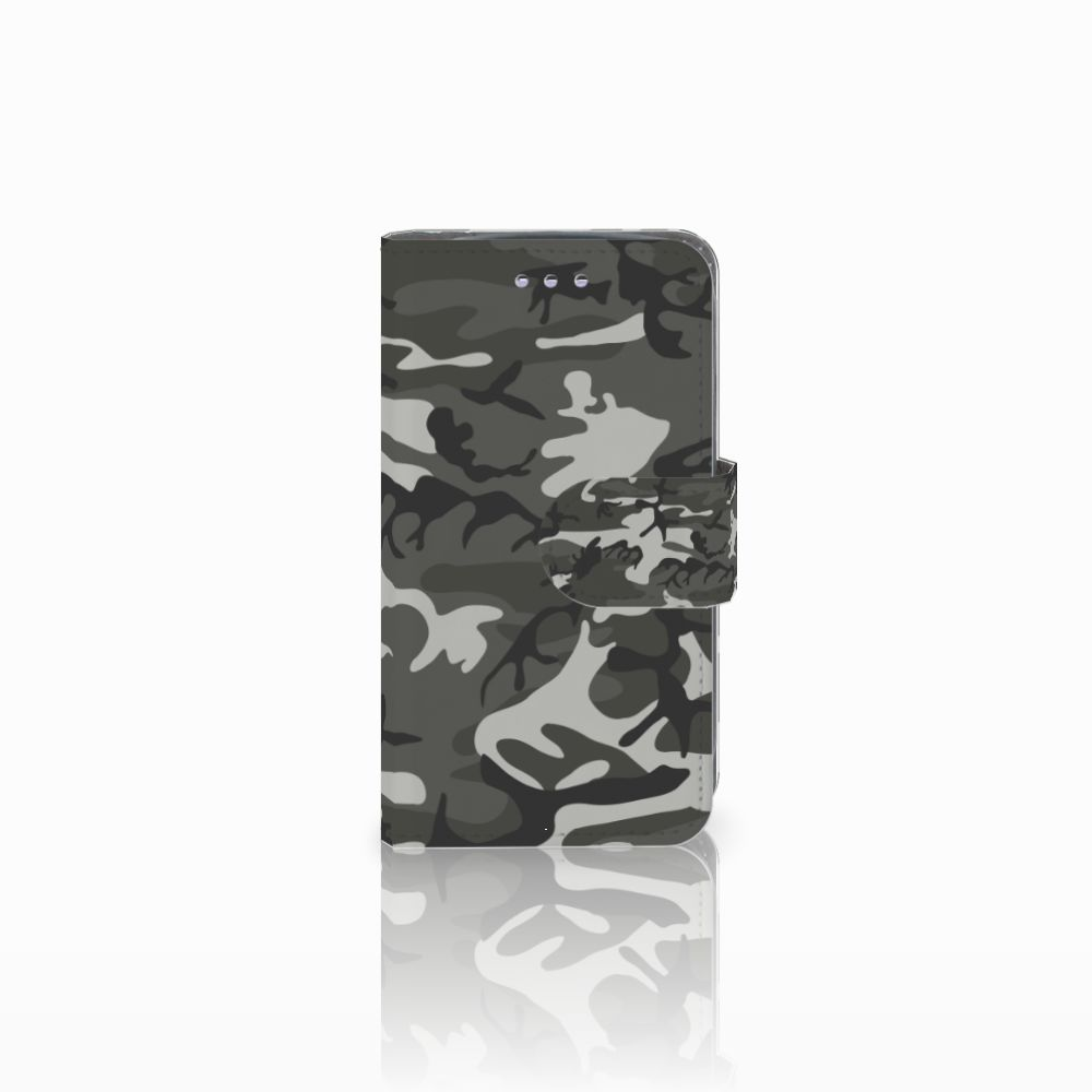 Samsung Galaxy S3 Mini Uniek Boekhoesje Army Light