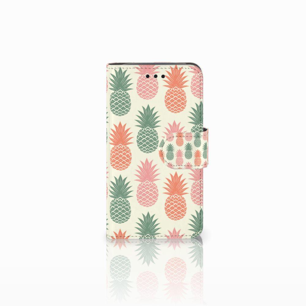 Samsung Galaxy Core i8260 Boekhoesje Design Ananas