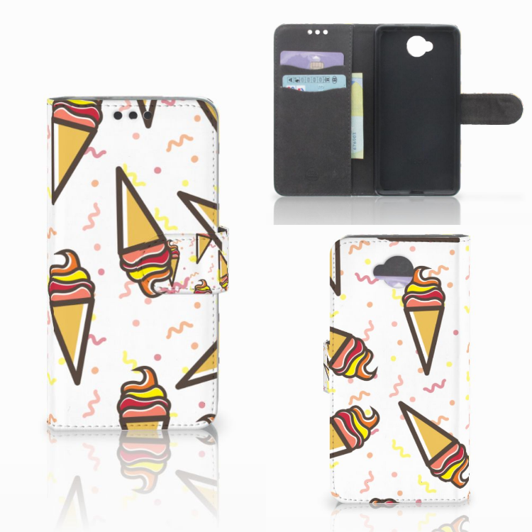 Microsoft Lumia 650 Book Cover Icecream