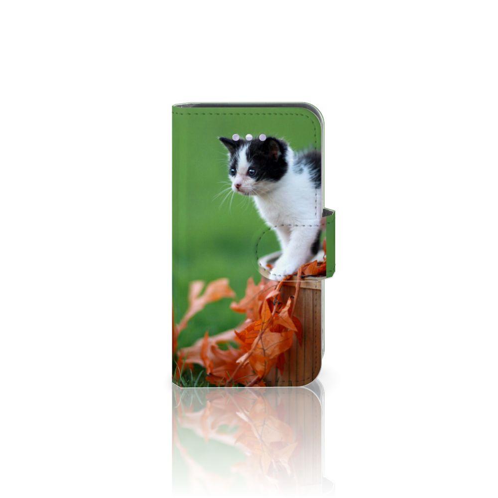 Apple iPhone 4 | 4S Telefoonhoesje met Pasjes Kitten
