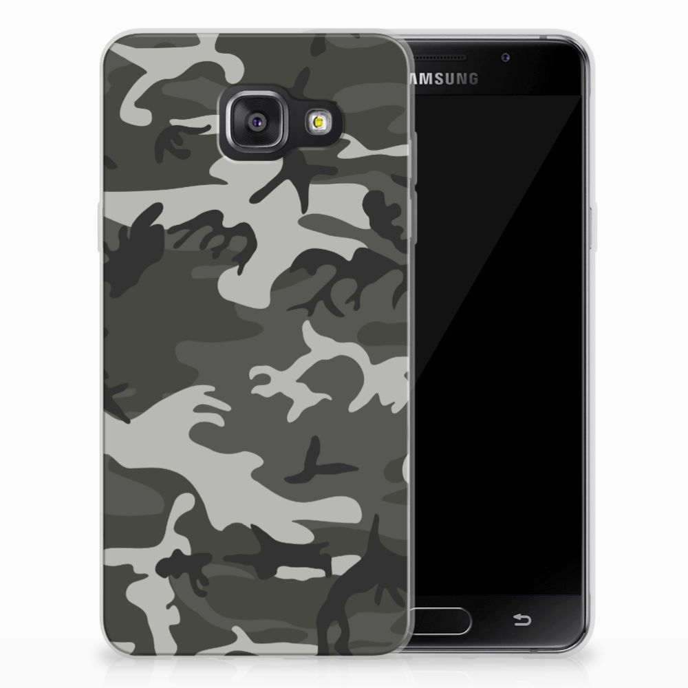 Samsung Galaxy A3 2016 Uniek TPU Hoesje Army Light