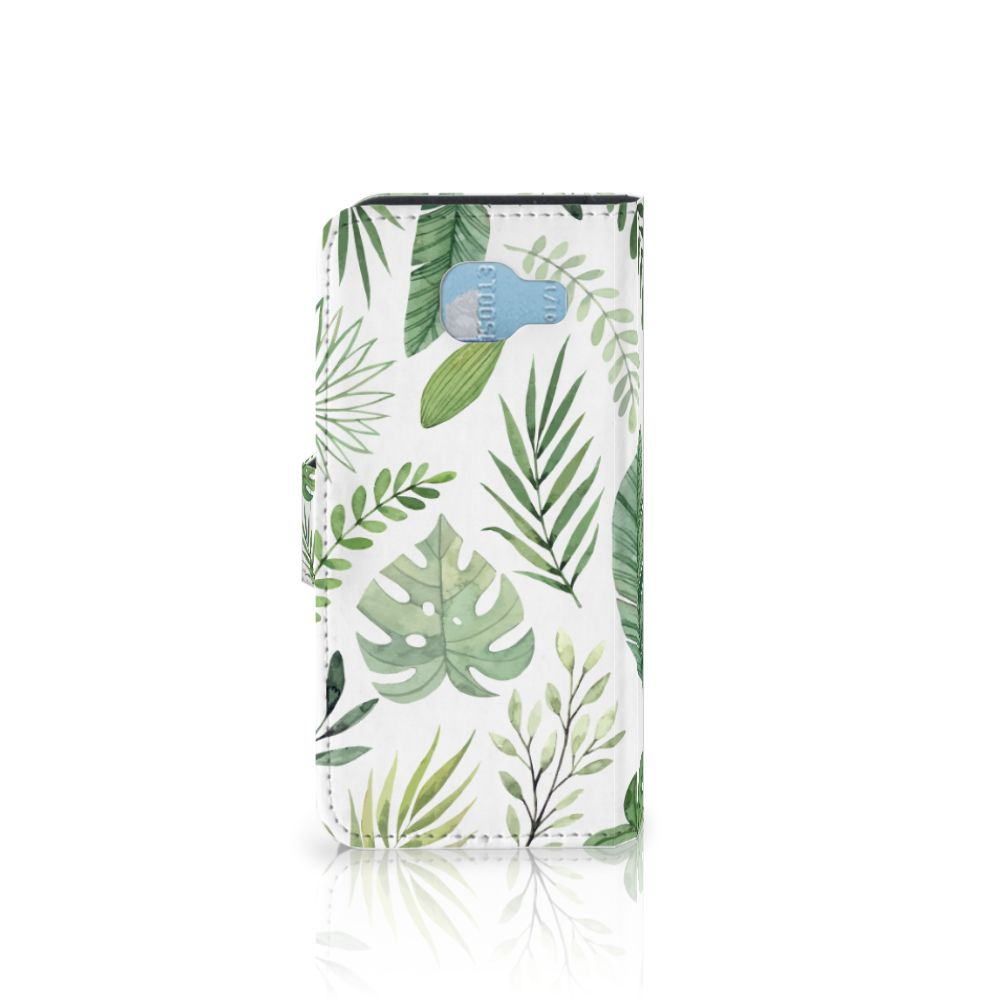 Samsung Galaxy A5 2016 Hoesje Leaves