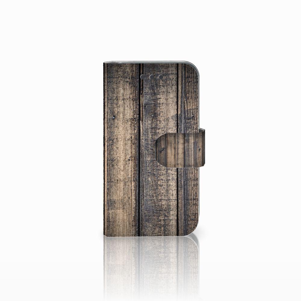 Samsung Galaxy Core 2 Boekhoesje Design Steigerhout