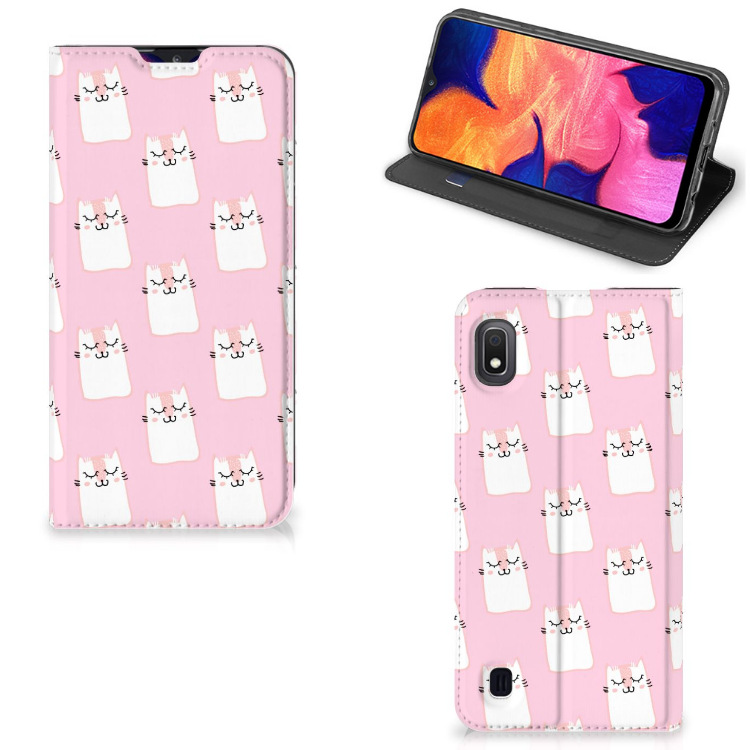 Samsung Galaxy A10 Hoesje maken Sleeping Cats