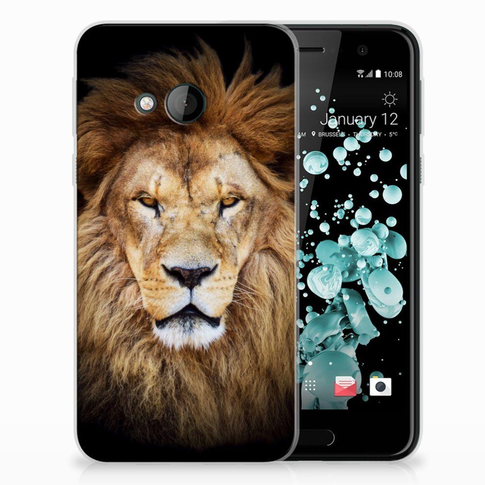 HTC U Play TPU Hoesje Design Leeuw