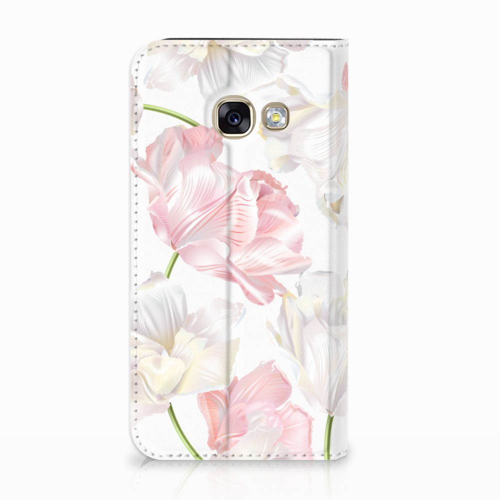 Samsung Galaxy A3 2017 Standcase Hoesje Design Lovely Flowers