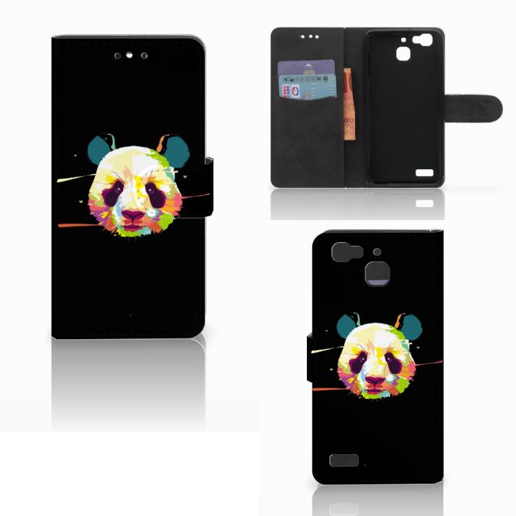 Huawei P8 Lite Smart (GR3) Leuke Hoesje Panda Color