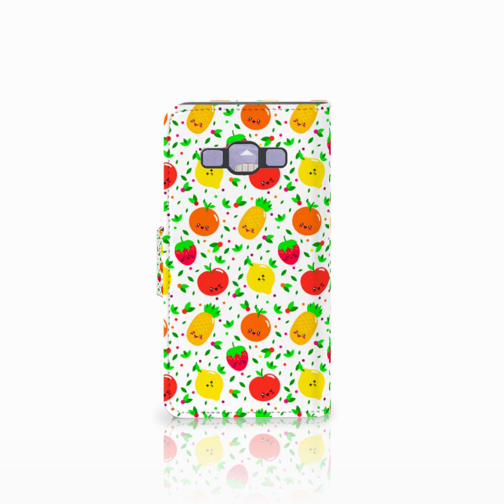 Samsung Galaxy A3 2015 Book Cover Fruits