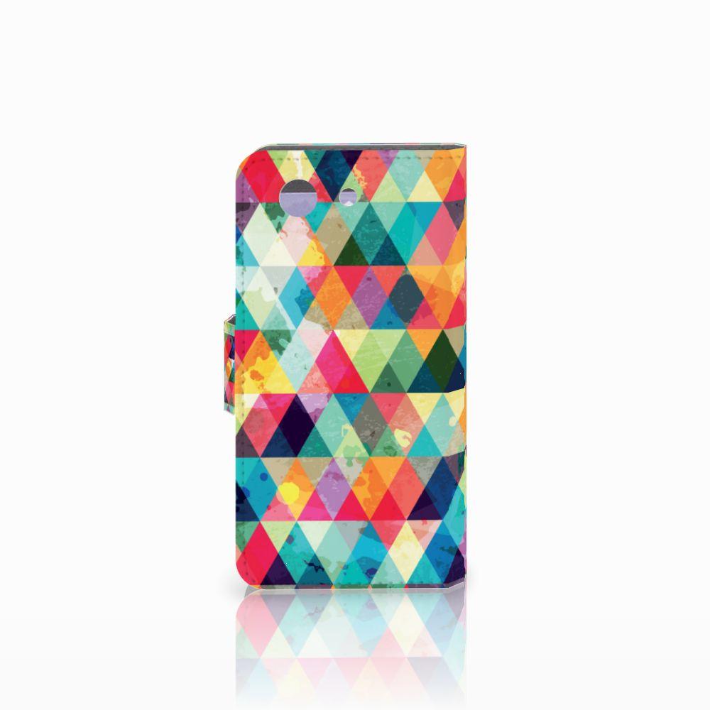 Sony Xperia Z3 Compact Telefoon Hoesje Geruit