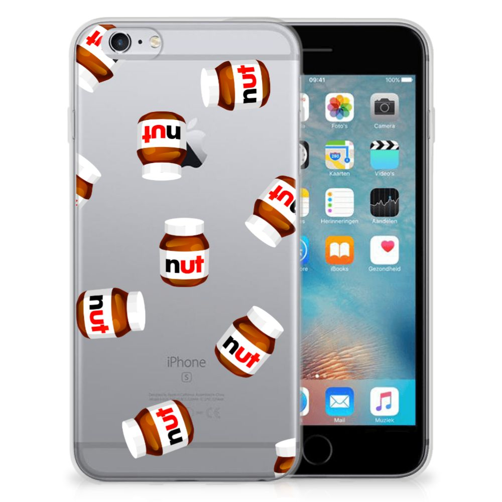 Apple iPhone 6 | 6s Siliconen Case Nut Jar