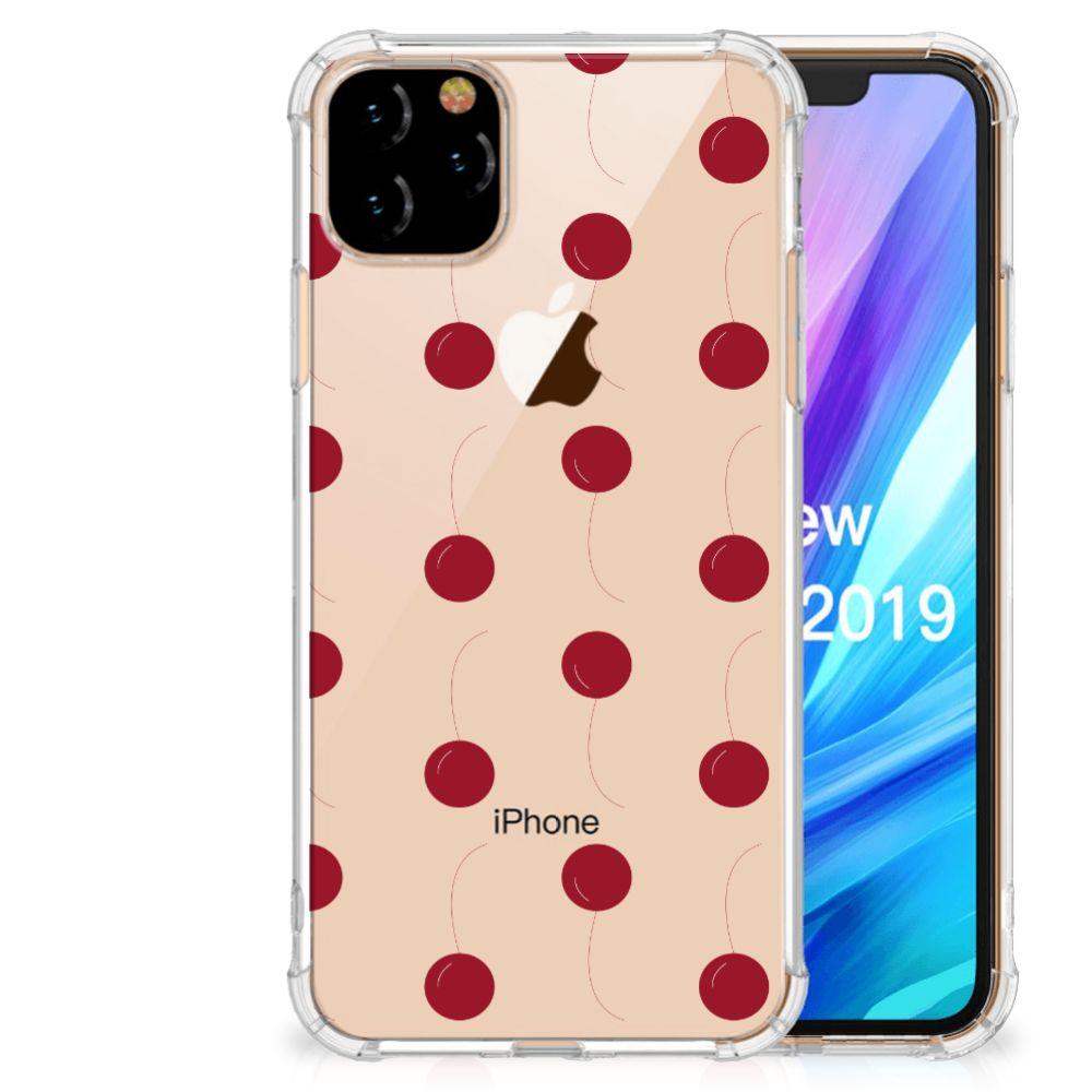 Apple iPhone 11 Pro Max Beschermhoes Cherries