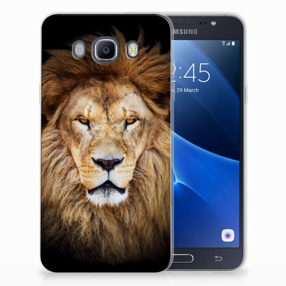 Samsung Galaxy J7 2016 TPU Hoesje Design Leeuw