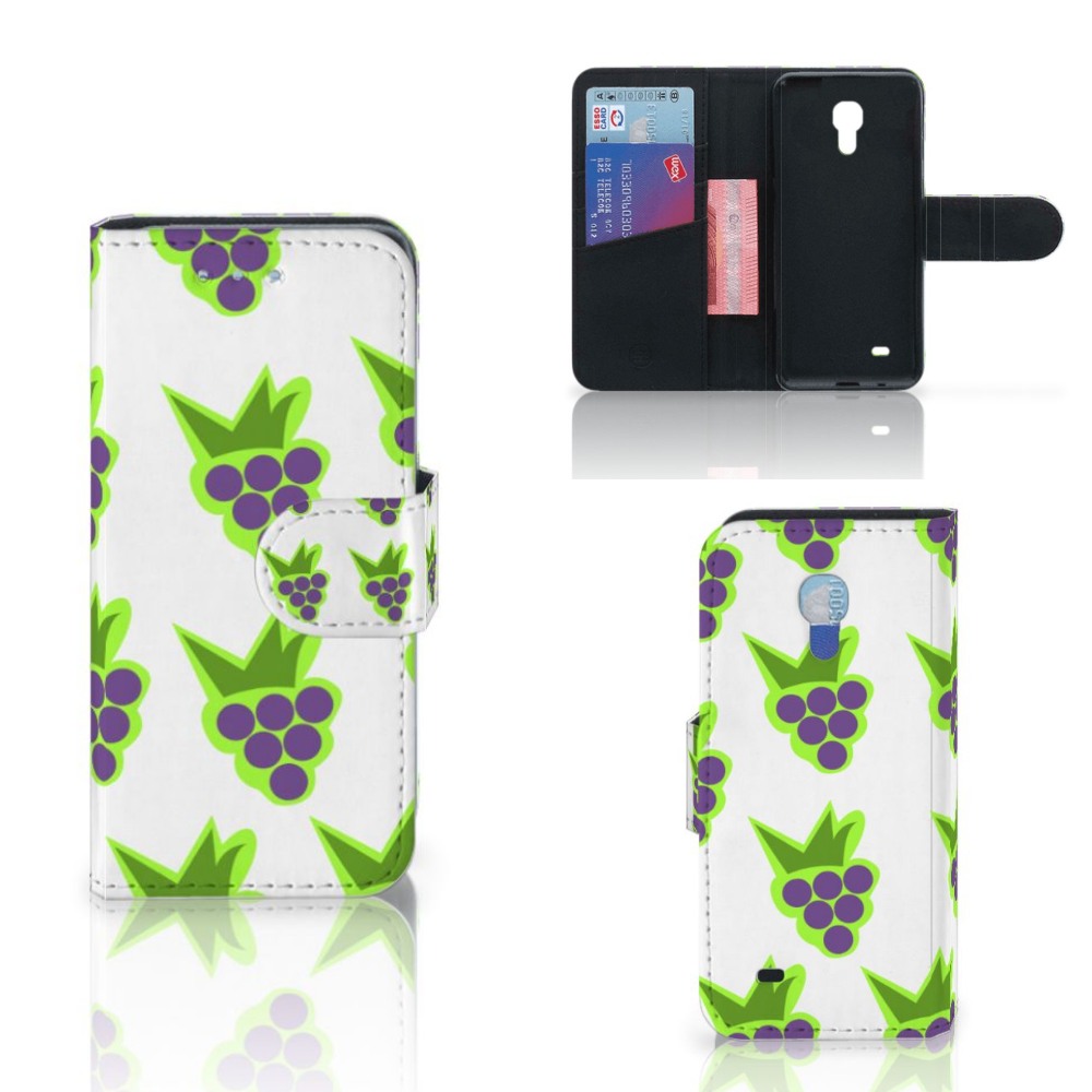 Samsung Galaxy S4 Mini i9190 Book Cover Druiven