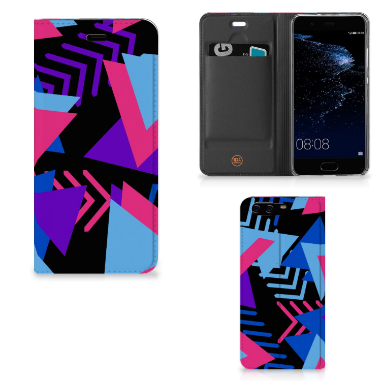 Huawei P10 Stand Case Funky Triangle