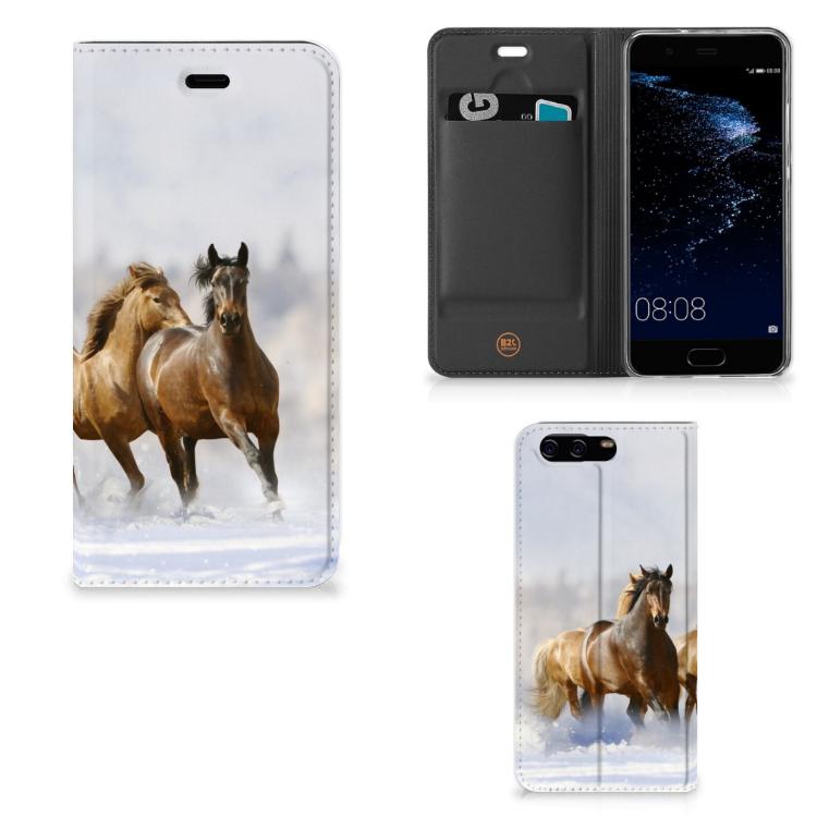 Huawei P10 Hoesje maken Paarden