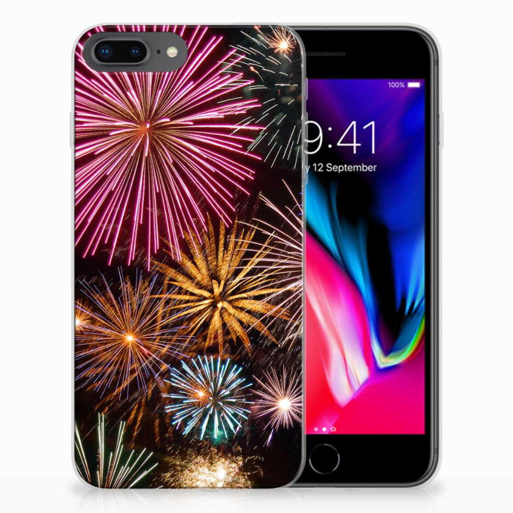 Apple iPhone 7 Plus | 8 Plus Silicone Back Cover Vuurwerk