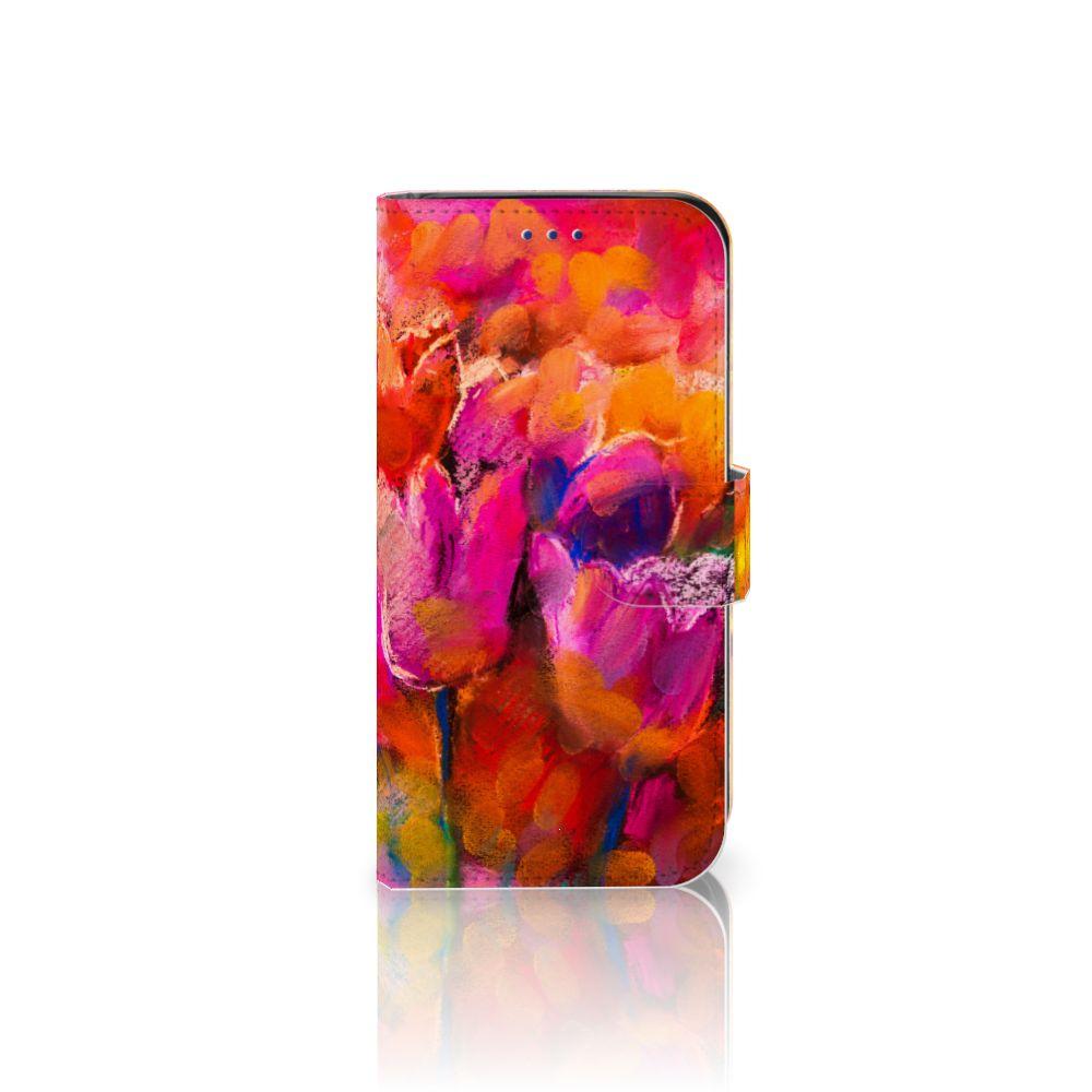 Samsung Galaxy S10e Boekhoesje Design Tulips