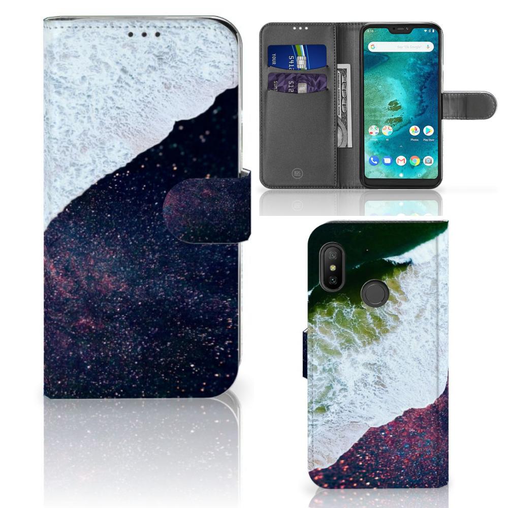 Xiaomi Mi A2 Lite Bookcase Sea in Space