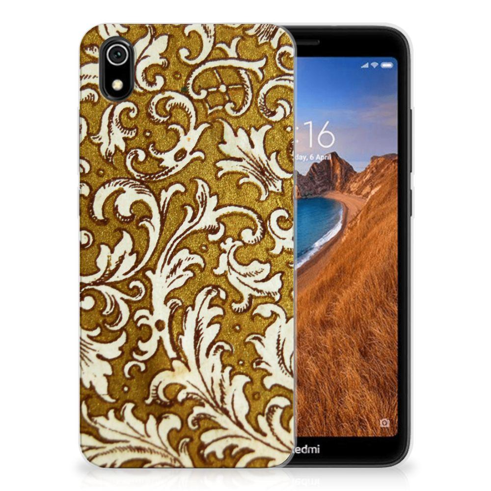 Siliconen Hoesje Xiaomi Redmi 7A Barok Goud