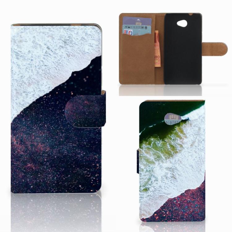 HTC Desire 601 Bookcase Sea in Space