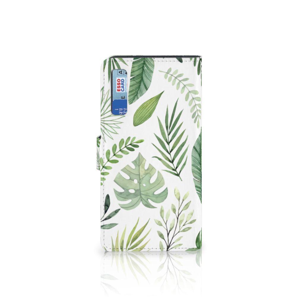Samsung Galaxy A7 (2018) Hoesje Leaves
