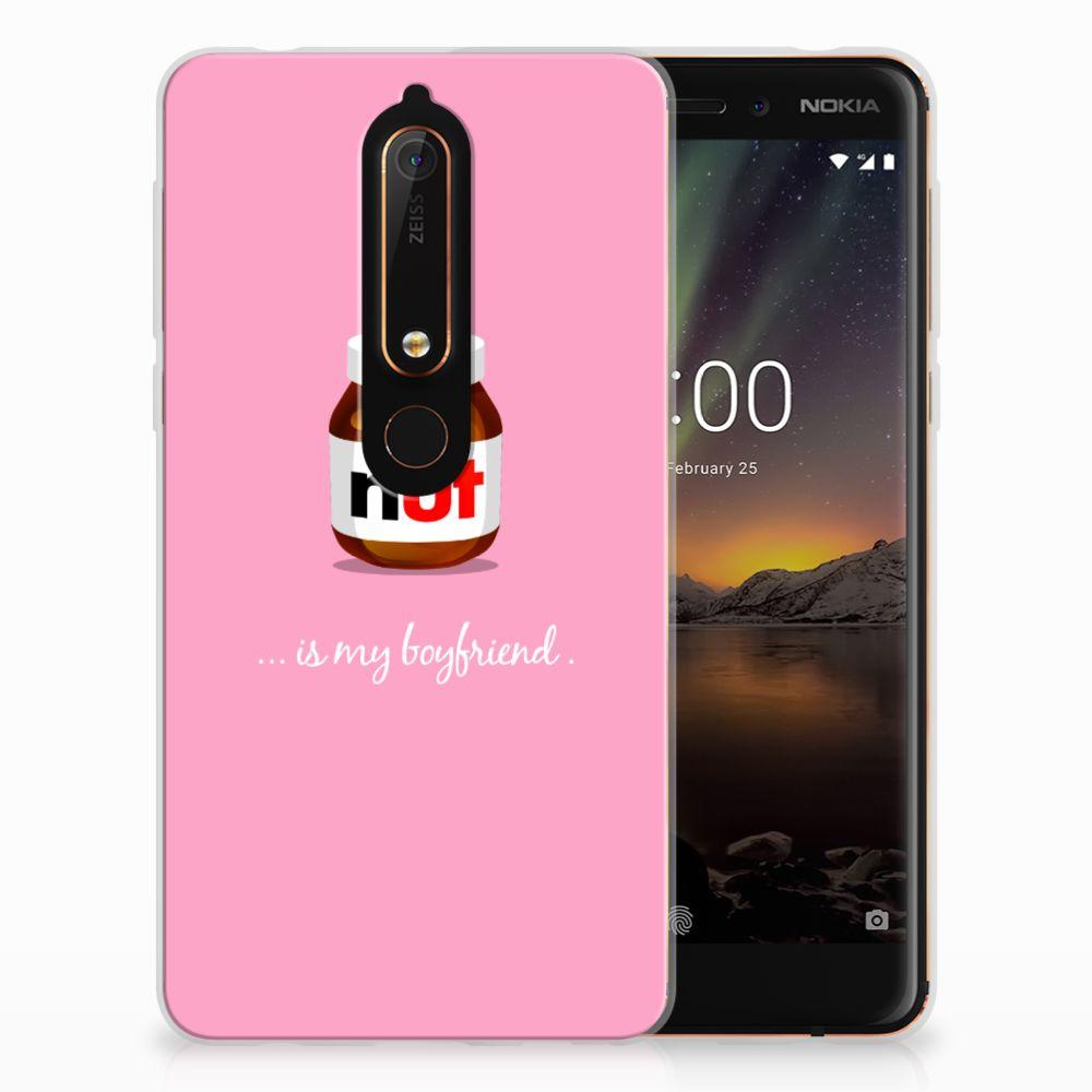 Nokia 6 (2018) Siliconen Case Nut Boyfriend