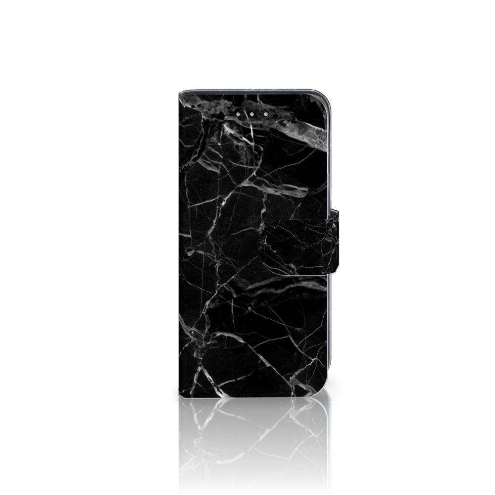 Samsung Galaxy A5 2016 Uniek Boekhoesje Marmer Zwart