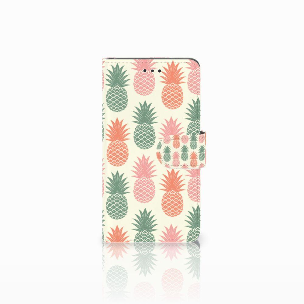 Nokia 7 Boekhoesje Design Ananas