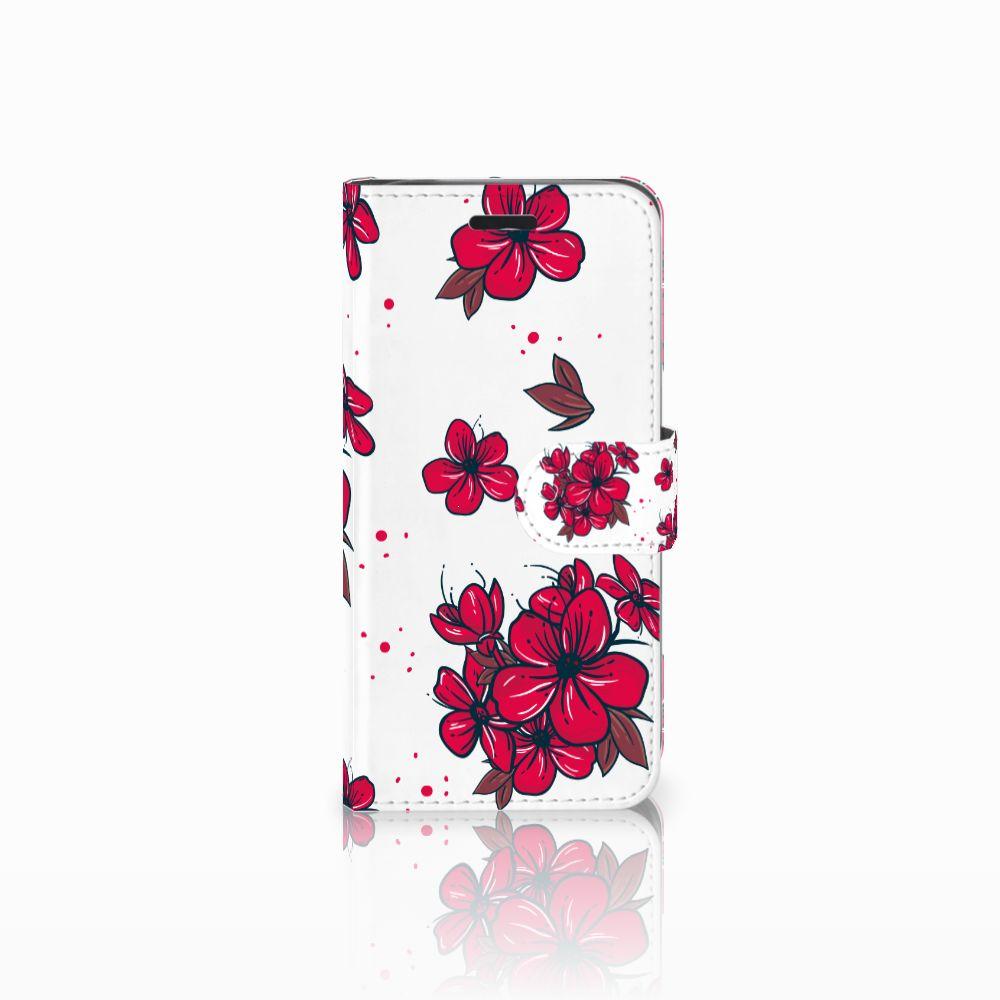 Acer Liquid Z530   Z530s Boekhoesje Design Blossom Red