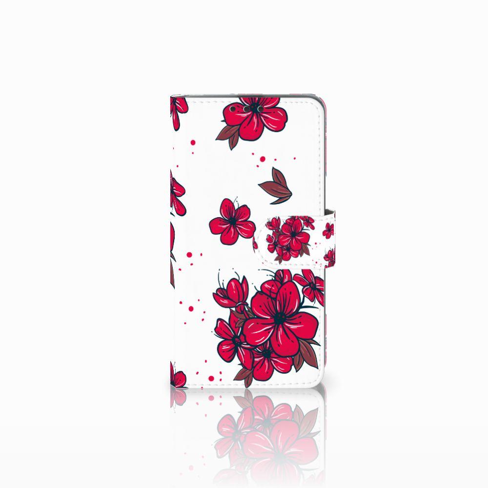 Microsoft Lumia 535 Boekhoesje Design Blossom Red