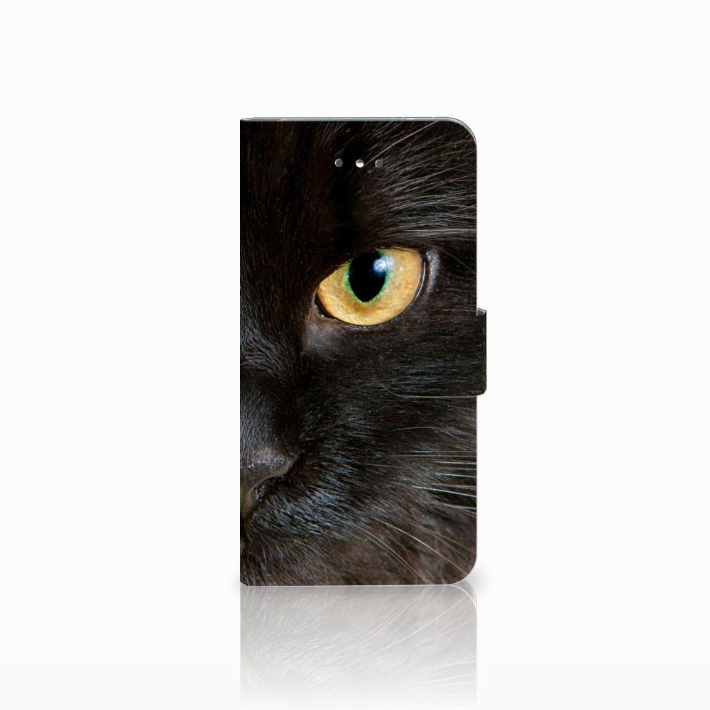 LG Nexus 5X Uniek Boekhoesje Zwarte Kat