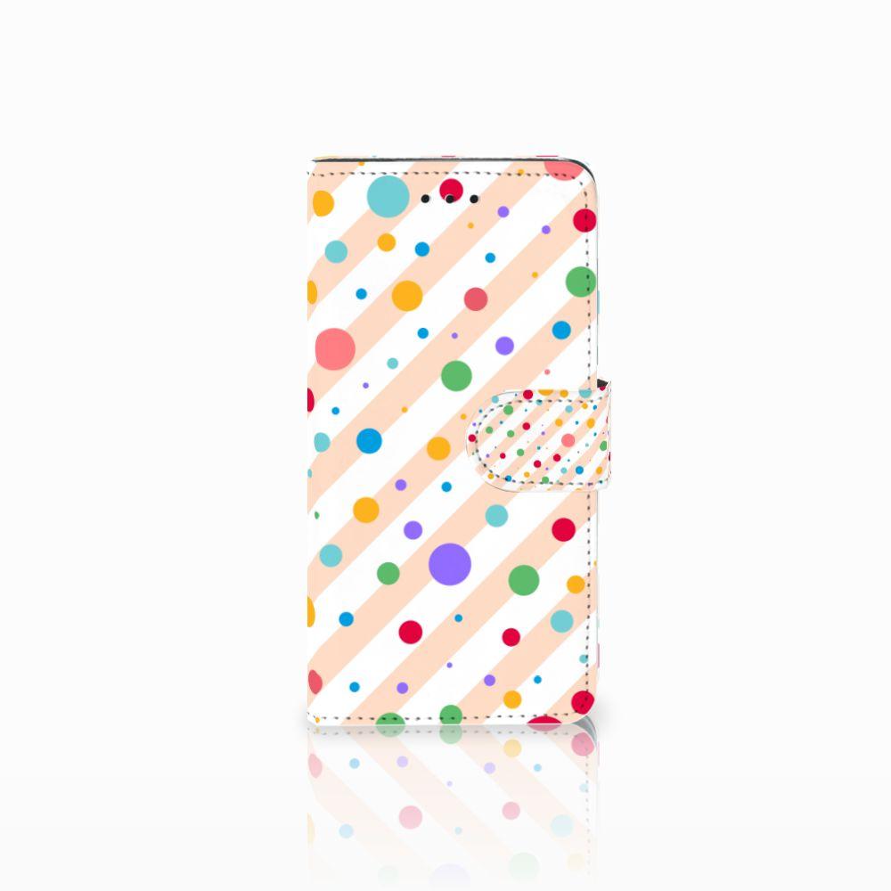 Huawei Y5 2018 Boekhoesje Design Dots