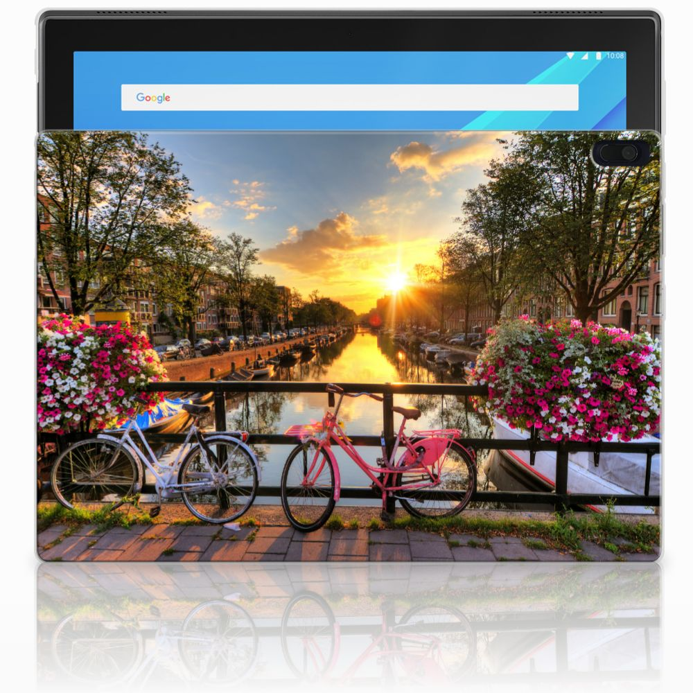 Lenovo Tab 4 10.1 Uniek Tablethoesje Amsterdamse Grachten
