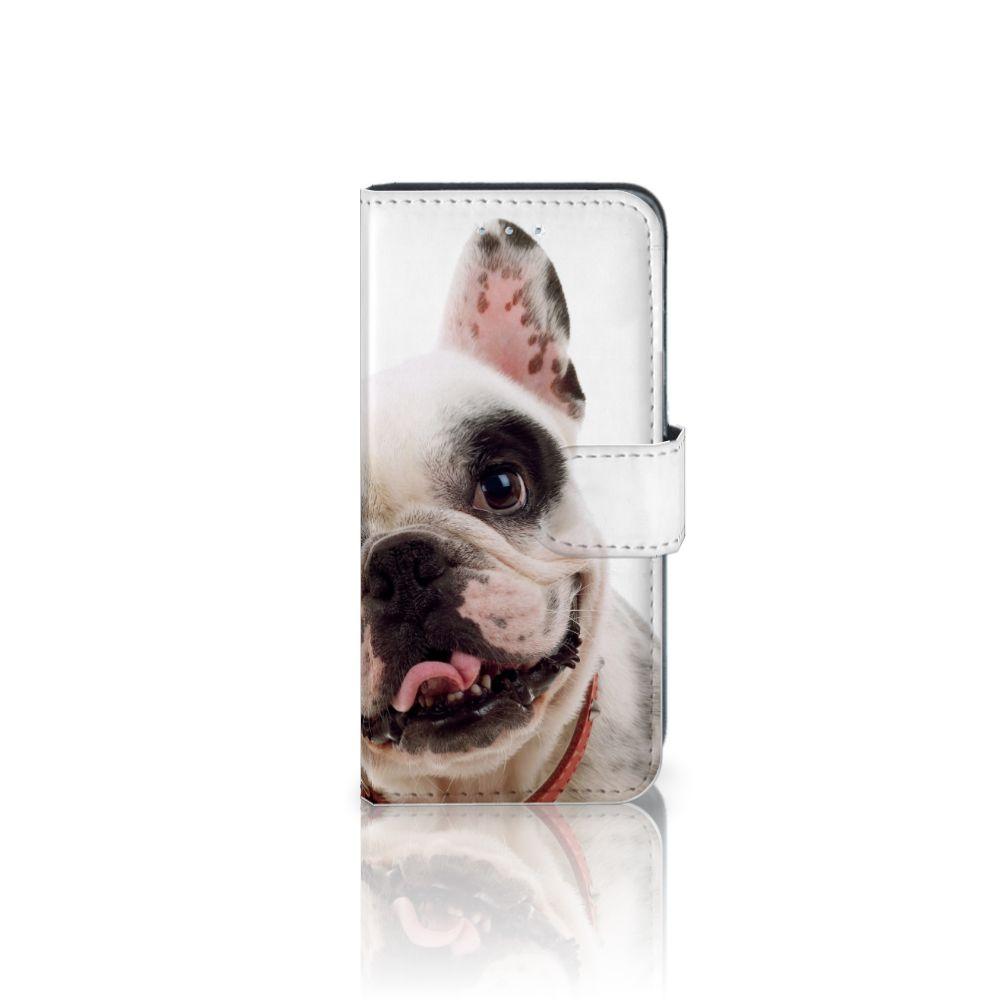 Samsung Galaxy A5 2016 Telefoonhoesje met Pasjes Franse Bulldog