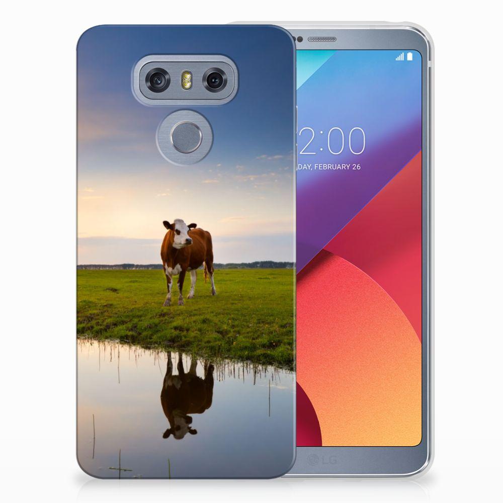 LG G6 TPU Hoesje Design Koe